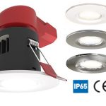 Ansell Prism LED Fire Rated Downlight IP65