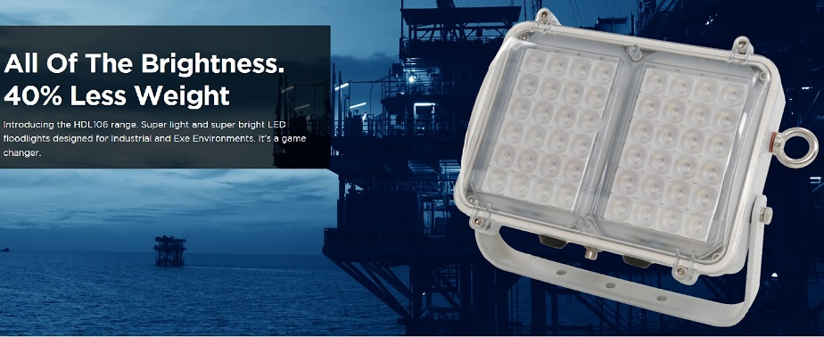 HDL EExe Flood Light for Zone-1 Area 01