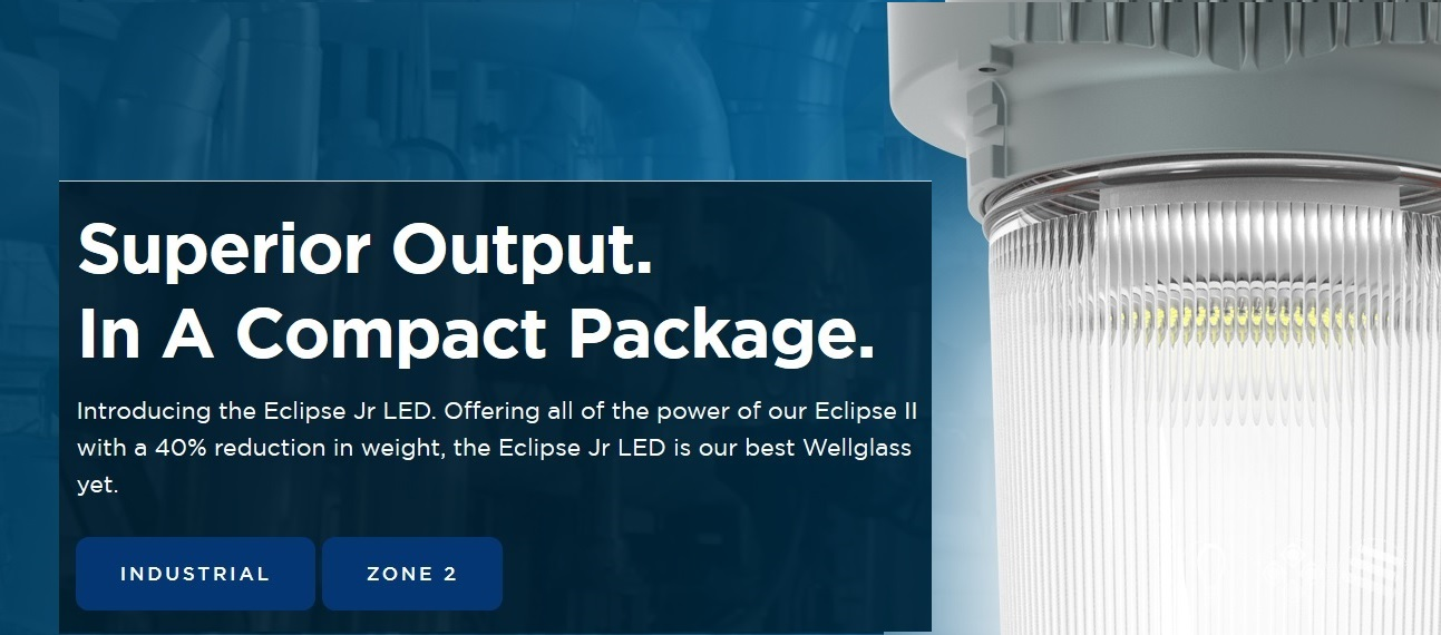 Eclipse-II LED Well Glass Light Zone-2 & Industrial Promo 12-Sep-2020