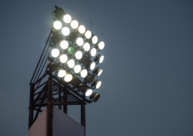 Freepik Free Image stadium lighting